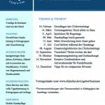 Flyer Vortragsreihe Click'n'Fun im Wolfsmenue Mannheim