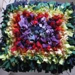 Schnüffelteppich Regenbogen XXL: 12 Farben, ca. 800 Knoten, 90€